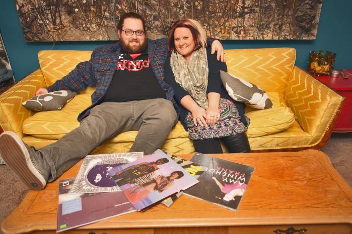 Skyler and Lauren Davis, owners