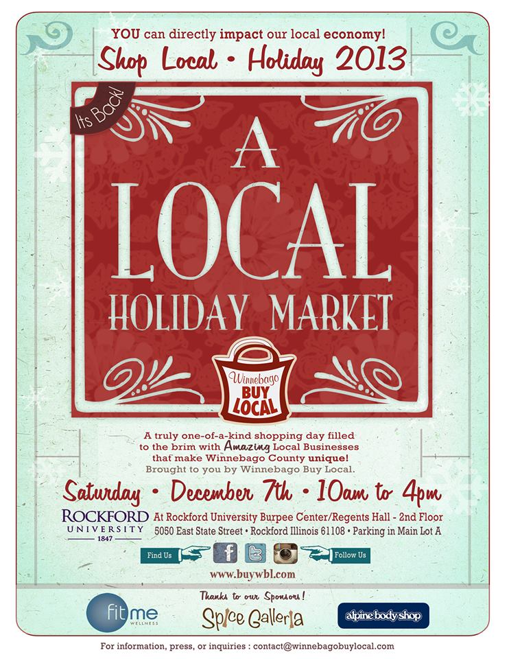 il a local holiday market 2013 happens on saturday ...